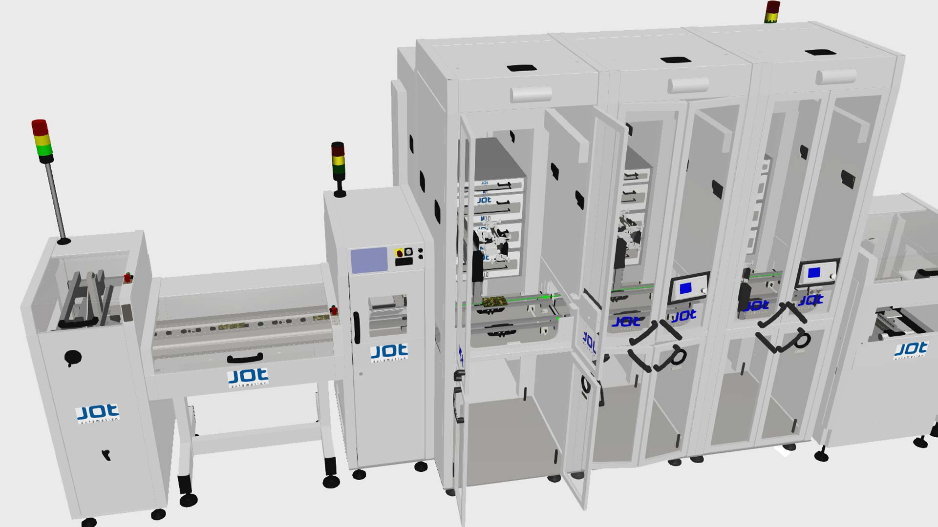 a rendering of JOT automation equipment