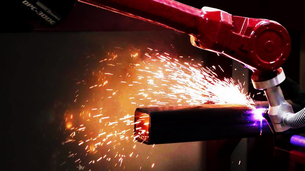a welding robot