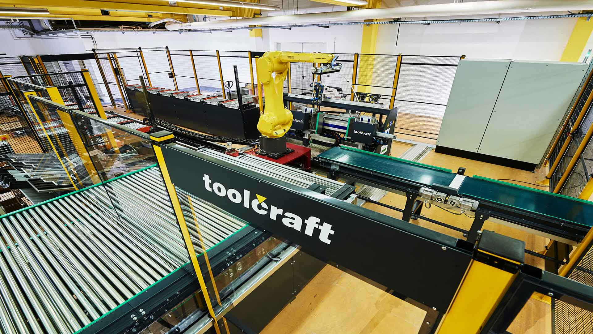Toolcraft production line robot