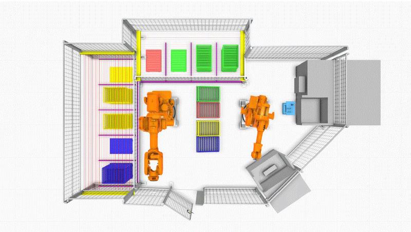 Mälardalen University reconfigured cell