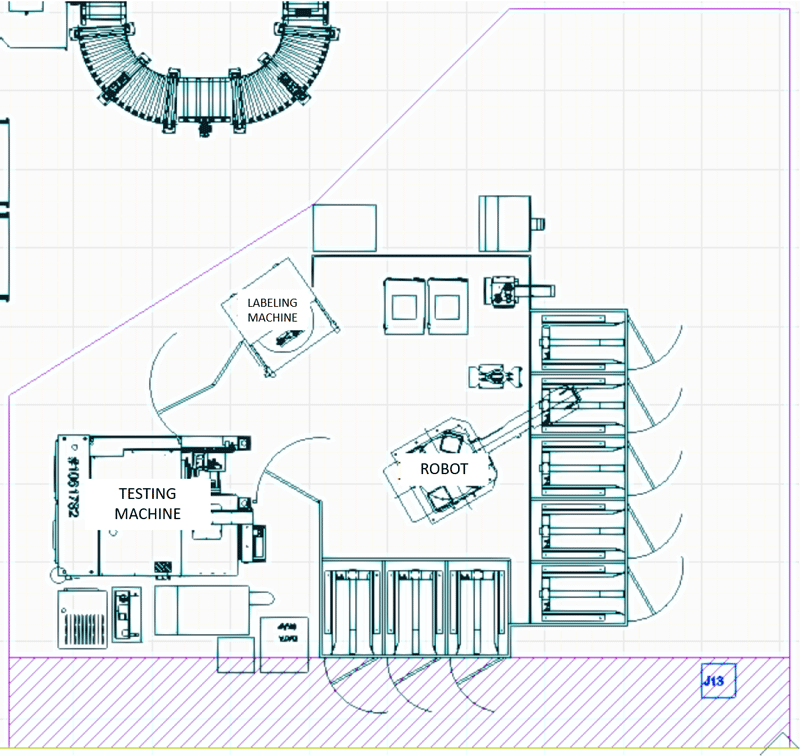 a plan for a manufacturing cell