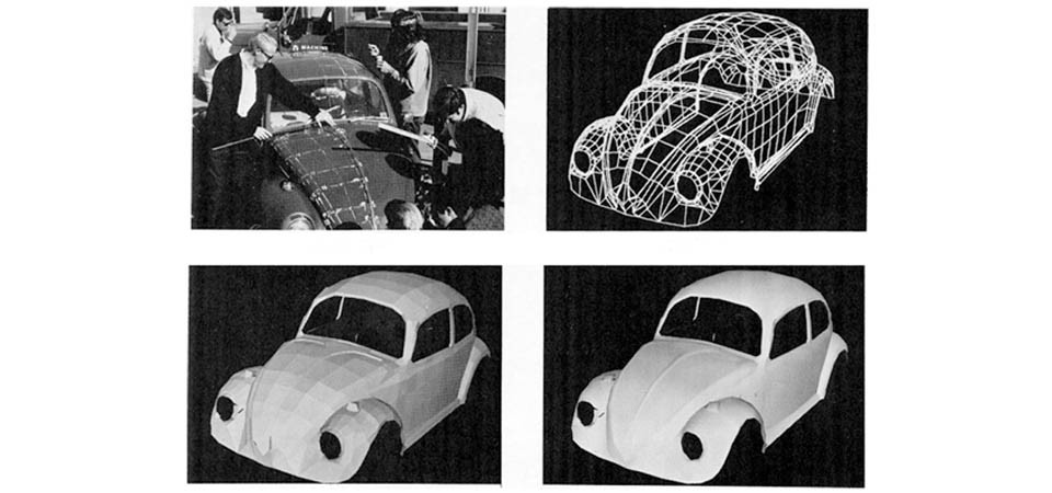 Simulation model of an old Volkswagen