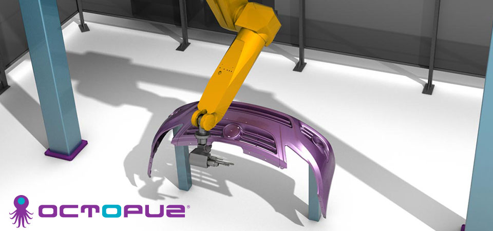 A robot assembling