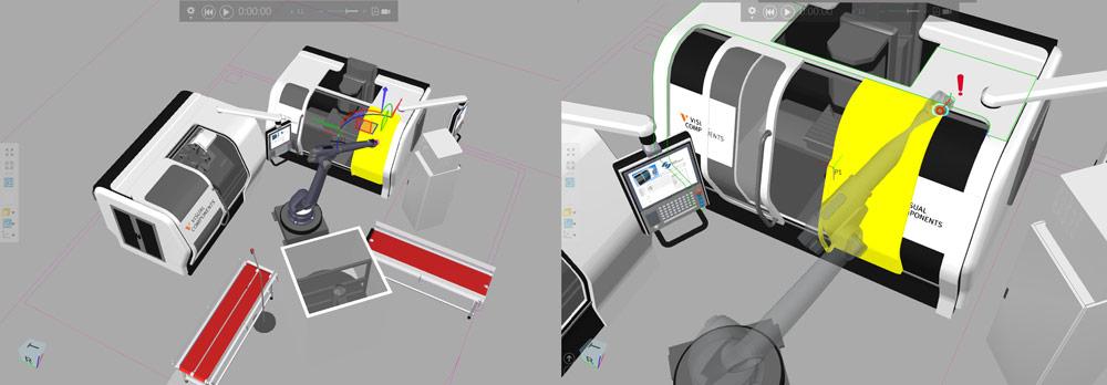 Manufacturing simulation technology