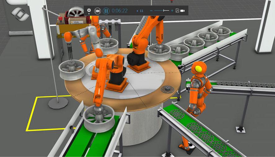 Production line design software