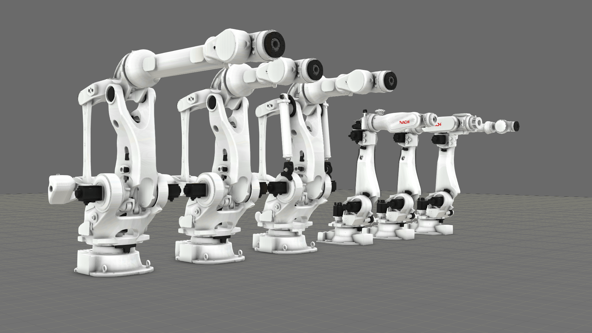 Collection of new Nachi robots in eCatalog