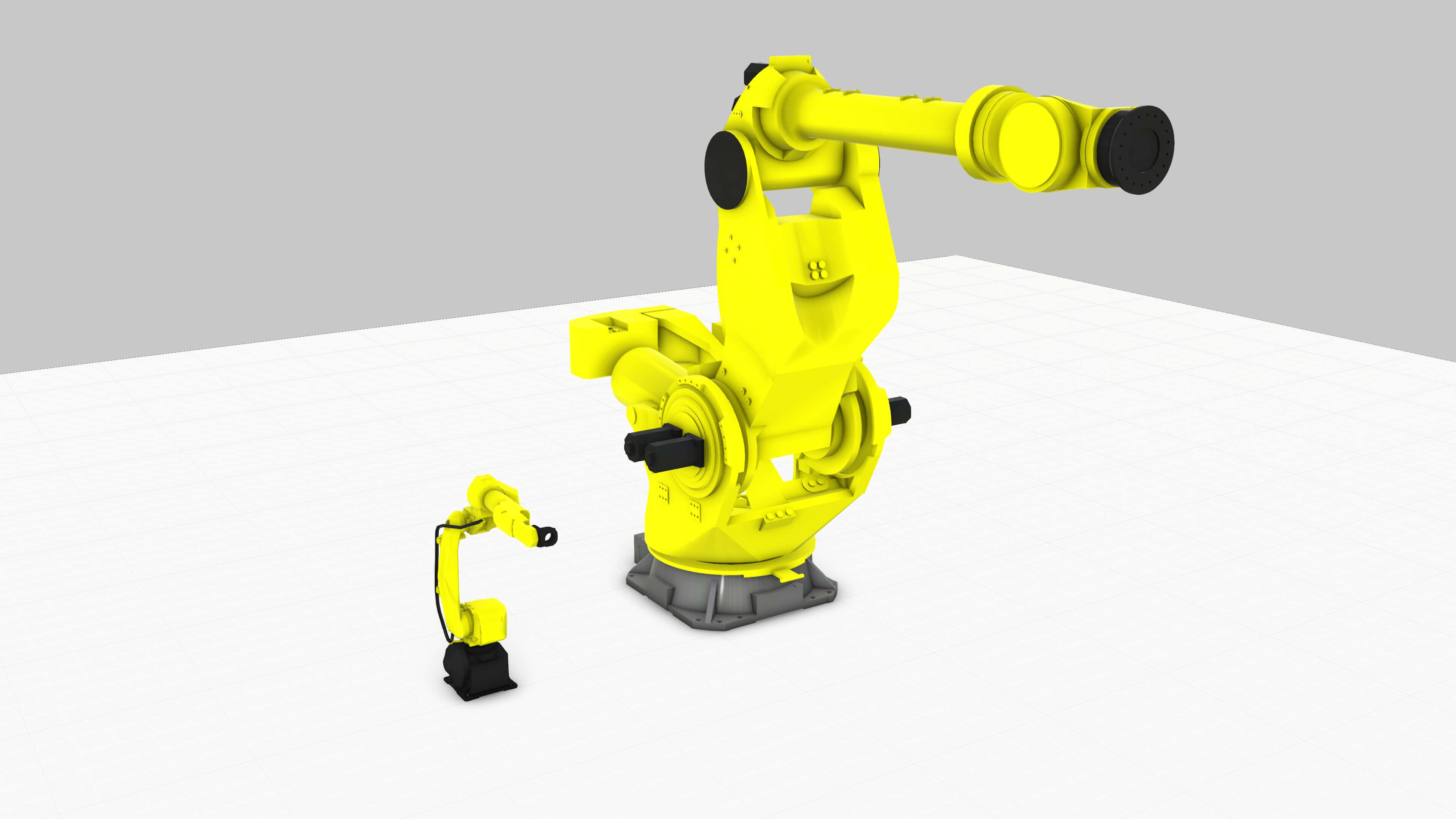 The new Fanuc component additions to Visual Components eCatalog in August 2018