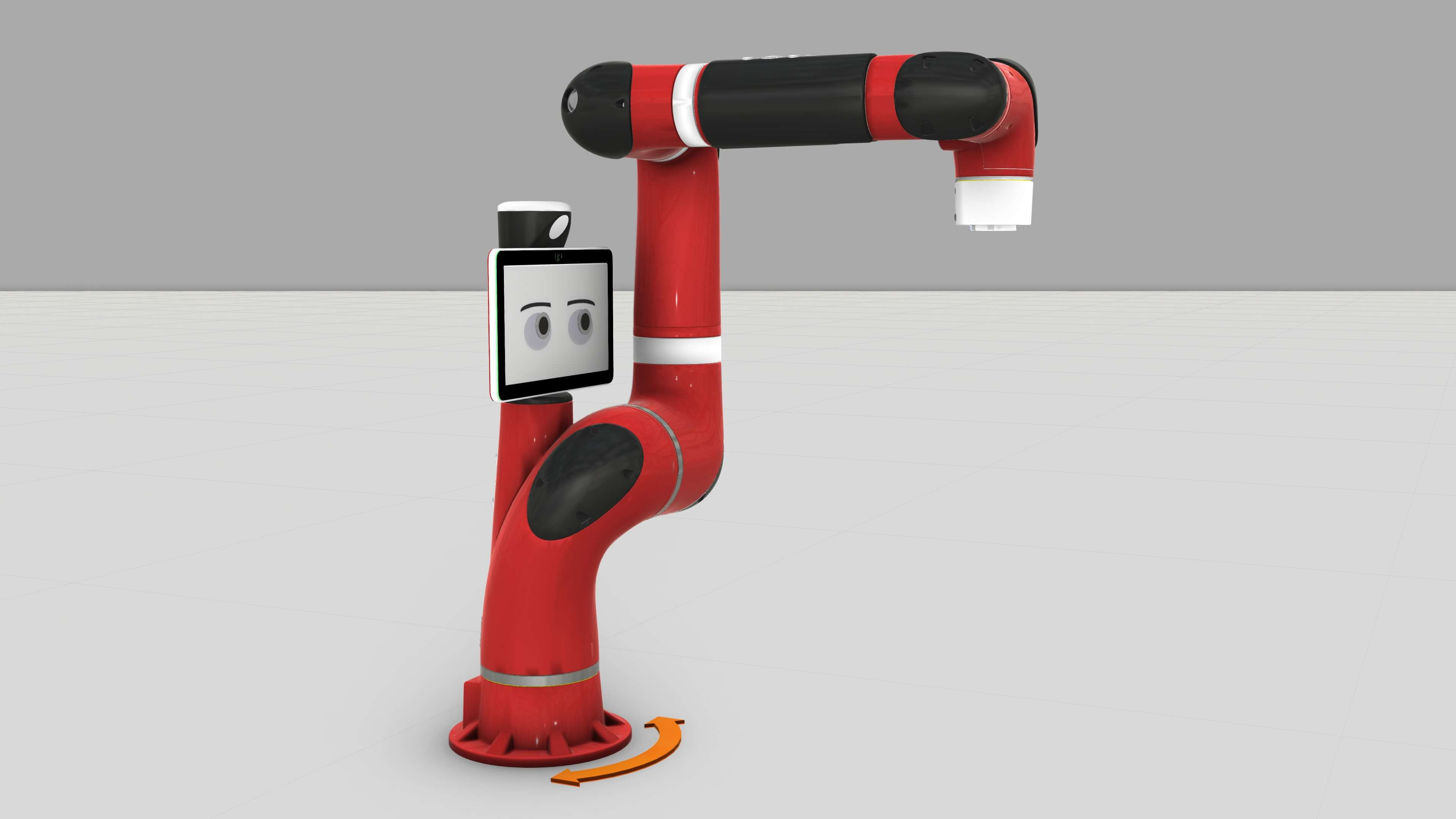 The new Rethink Robotics component additions to Visual Components eCatalog in August 2018
