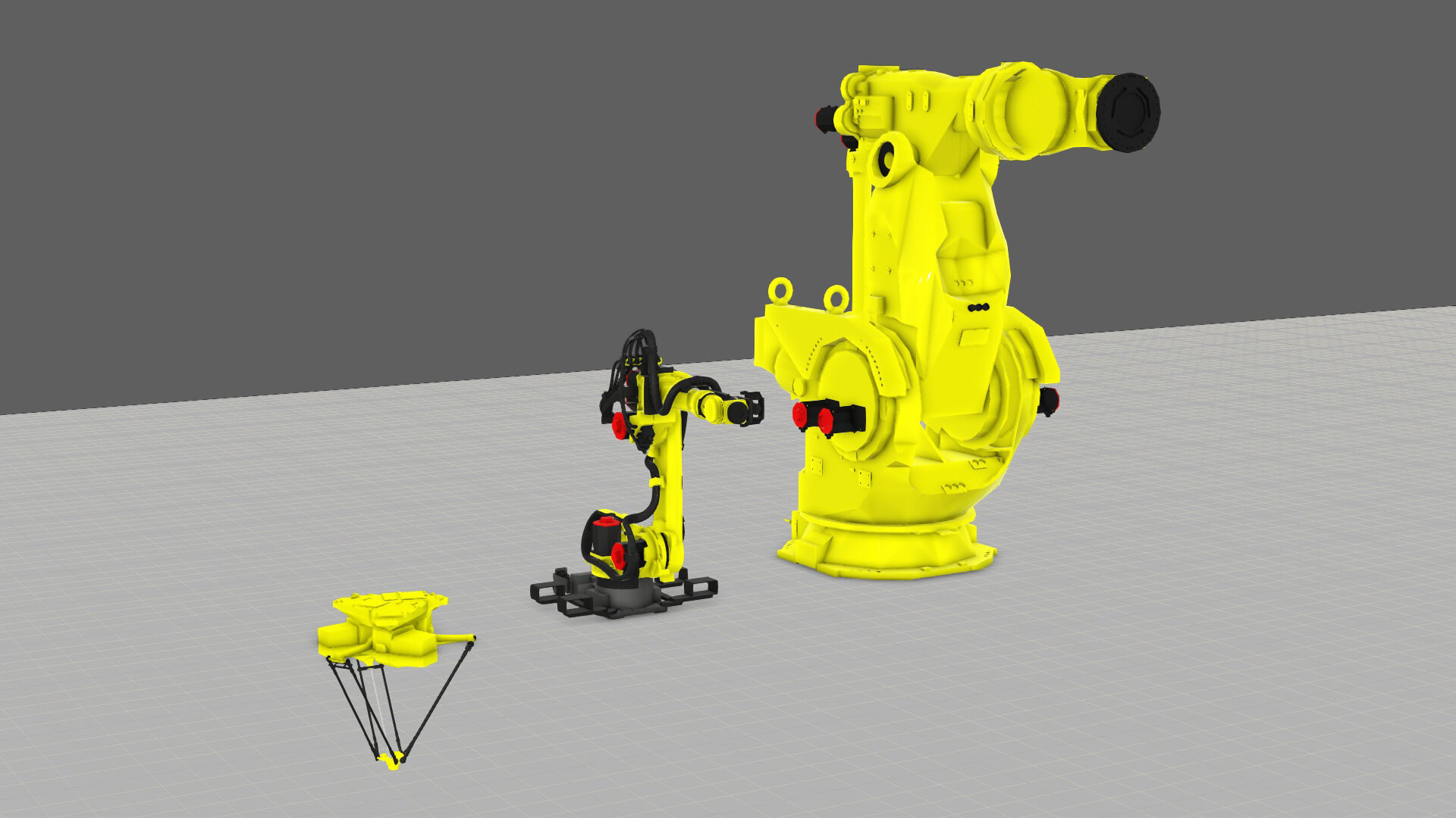 The new Fanuc component additions to Visual Components eCatalog in April 2019