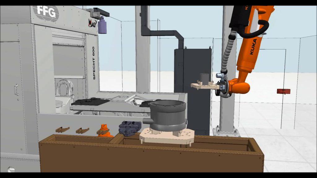 MAG Case Study - Robot hand