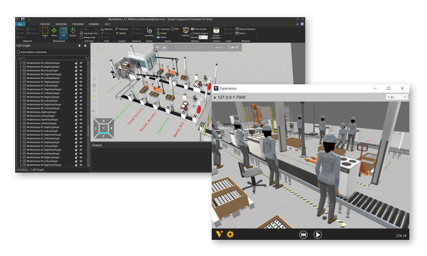 Interactive VR